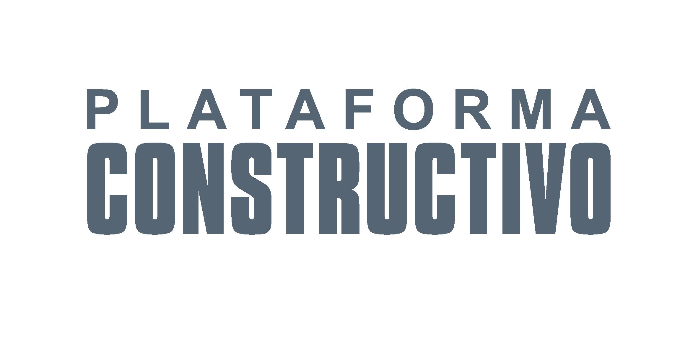 Plataforma CONSTRUCTIVO